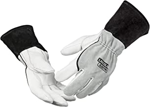 Lincoln Electric DynaMIG Traditional MIG Welding Gloves | Top Grain Leather | 2XL | K3805-2XL