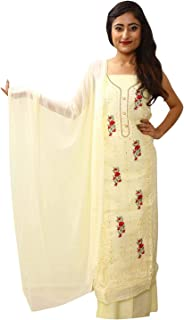 gopi fashion Women's Cotton Embroidered Dress Material