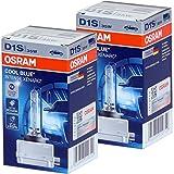 Osram D1S 35W - Quemador de xenón XENARC COOL BLUE INTENSE lámpara de descarga, estuche (2 unidades)