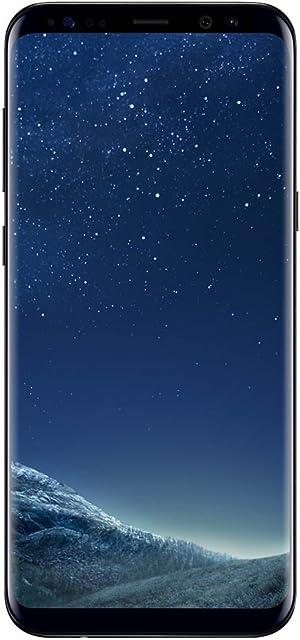 Samsung Galaxy S8 Smartphone 4GB RAM 64GB 12MP Android 9 (Versión española: incluye Samsung Pay compatibilidad de redes) Negro 5.8