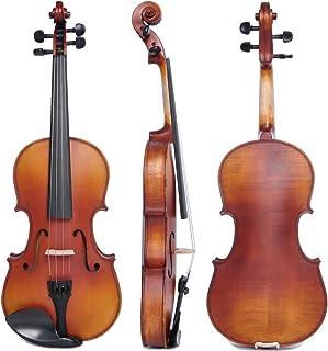 ویولن دانشجویی ویولن دانشجویی نمایش اندازه کامل Vif 4/4 Handmade Stradivari Style Style Copy Violin Fiddle Case Size