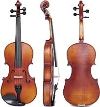 Vif 4/4 Handmade Stradivari Copy Style Violin Fiddle Case Bow Set Student Violin Show Full Size