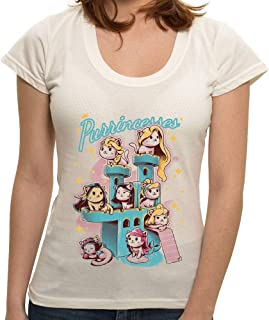 Camiseta Purrincess - Feminina
