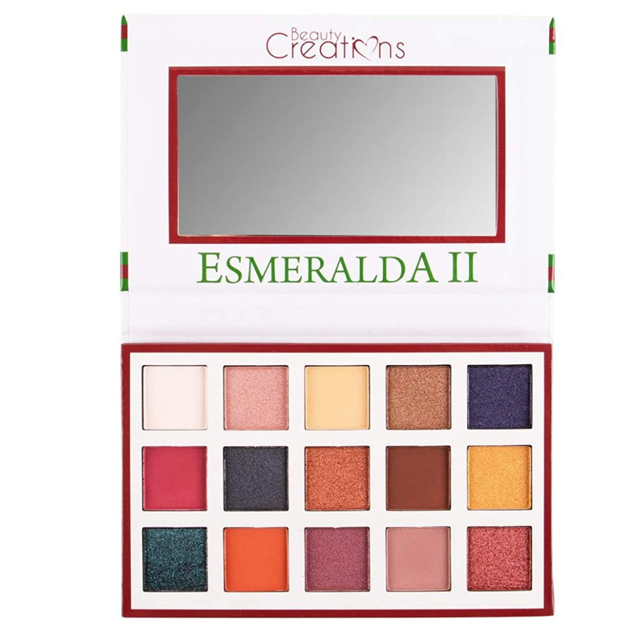 遺跡崩壊カウボーイ(6 Pack) BEAUTY CREATIONS Esmeralda II 15 Color Eyeshadow Palette (並行輸入品)
