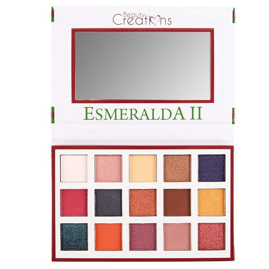 シールド職業生理(6 Pack) BEAUTY CREATIONS Esmeralda II 15 Color Eyeshadow Palette (並行輸入品)