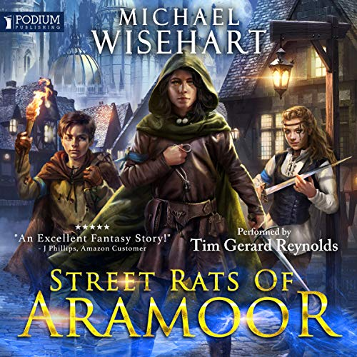 Street Rats of Aramoor audiobook cover art