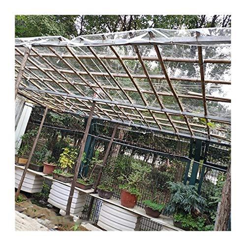 LSXIAO Lona De Vidrio Transparente, Marquesina Transparente, Cubierta Impermeable, 0,3mm Hoja De PVC, Anti-envejecimiento Aislamiento para Cerramiento De Patio, Funda para Muebles De Jardín