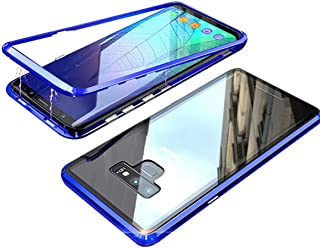 Honor 8X Max Case, Enjoy Max Case, Gift_Source Magnetic Adsorption Protective Case Clear Tempered Glass Full Screen Coverage Metal Bumper Frame Hard Cover for Huawei Honor 8X Max/Enjoy Max 7.12
