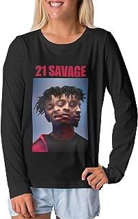 Teenage Boys Girls Long Sleeve T-Shirt Youth Tops Black Gift