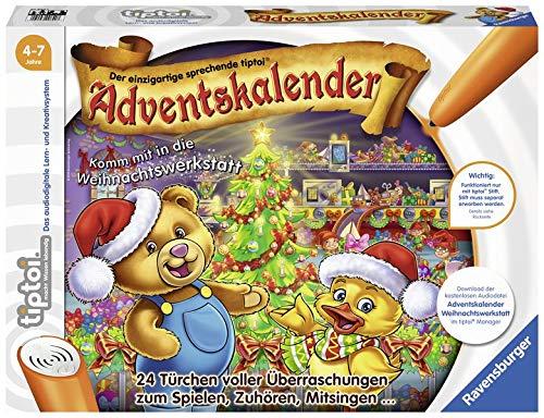 tiptoi® Adventskalender: Komm mit in die Weihnachtswerkstatt