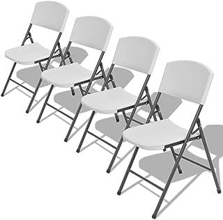 Amazon.es: sillas plegables blancas