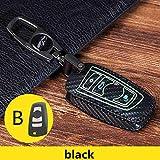 8.5 Noir /Étui de protection en cuir v/éritable pour cl/és B-MW 3 5 7 Series M1 M2 M3 F05 F10 F20 F30 335 328 535 650 740 x1 x3 x4 x6 4.5 cm