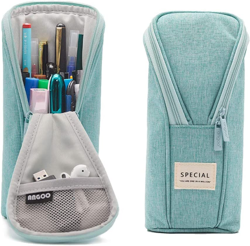 Araberry Stand Up Pencil Case Standing 2021 autumn and winter Don't miss the campaign new Canvas Holder Penc