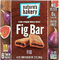 NATURES BAKERY Whole Wheat Fig Bars, 12 OZ
