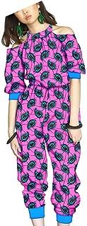 African Clothing for Women Dashiki Jumpsuits for Girls Ankara Fabric Wax Batik Romper