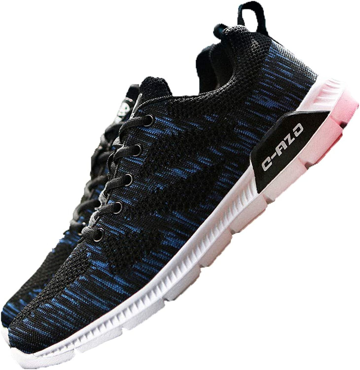Sunly New Women's Summer Flying Woven Sneakers The Trend of Breathable Casual Running shoes Travel Men's shoes