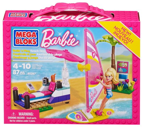Barbie - Día de Playa Mega Brands 80287