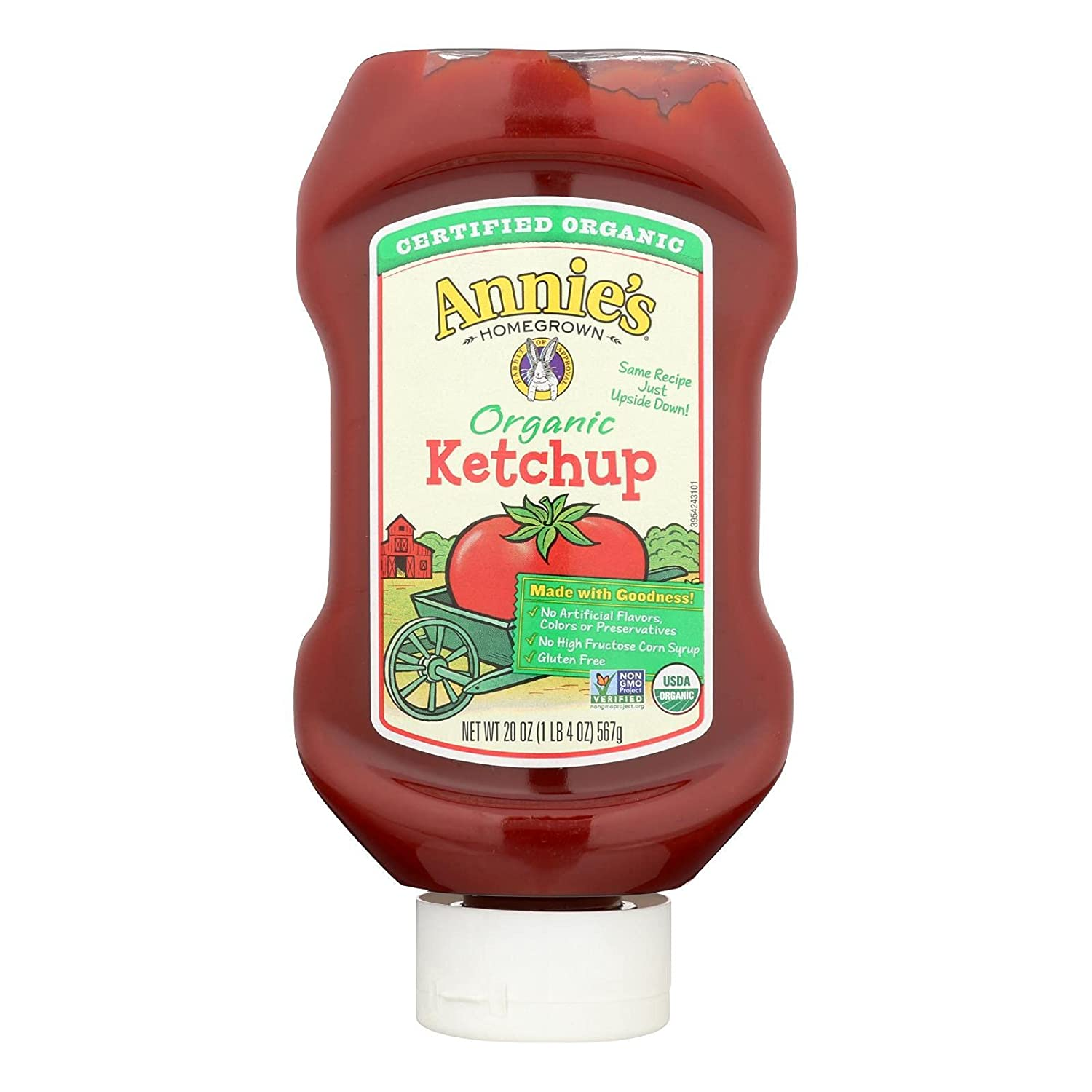 Annie's Credence Homegrown Ranking TOP12 Ketchup Og2 20 12 Oz Of Pack