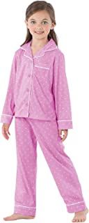 children's button down pajamas