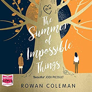 The Summer of Impossible Things                   By:                                                                                                                                 Rowan Coleman                               Narrated by:                                                                                                                                 Imogen Church                      Length: 12 hrs and 18 mins     716 ratings     Overall 4.4