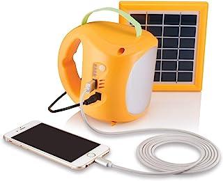 Agni Solar Systems Solar Lantern 1, Yellow & White, Standard (AG- 004)