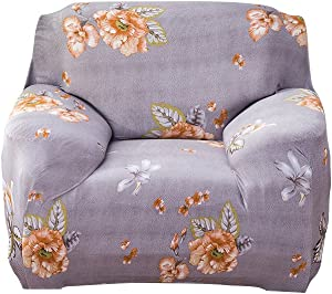 WINOMO Chair Covers Polyester Fabric Sofa Cover Slipcover Couch Protector for Single Seat 90x140cm  5