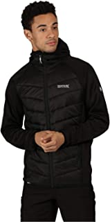 Regatta Men's Andreson V Hybrid Stretch Water Repellent Insulated Compressible Lightweight Hooded Hybrid Jacket Jacket
