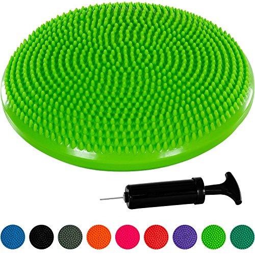 Movit Ballsitzkissen »Dynamic SEAT« inkl. Pumpe, schadstoffgeprüft und phthalatfrei, 33 cm, grün