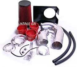 PERFORMANCE HEATSHIELD COLD AIR INTAKE KIT FIT 1997-2003 Ford F-150 Expedition / 1997-1999 F-250 4.6 4.6L 5.4 5.4L V8 ENGINE (RED)