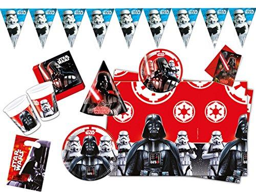 Procos 10115665 Partyset Star Wars Final Battle, XL