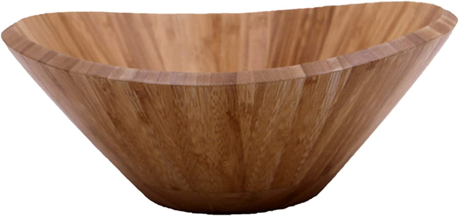 Large Wooden Ranking TOP11 Genuine Free Shipping Bamboo Salad Bowl Set For Spoon with