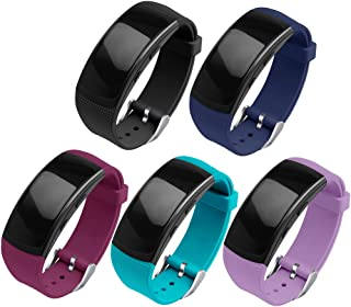 OenFoto Compatible Gear Fit2 Pro/Fit2 Band, Replacement Silicone Accessories Strap Samsung Gear Fit2 Pro SM-R365/Gear Fit2 SM-R360 Smartwatch -5-Pack
