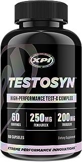 Testosyn - High Performance Testosterone Supplement, 180 Count Bottle