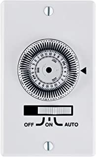 Intermatic KM2ST-1G 1 Gang SPST In-Wall 24-Hour Electromechanical Timer