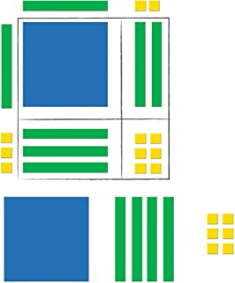 Learning Resources LER7641 Magnetic Algebra Tiles