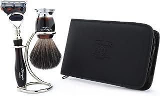 Profesjonalny zestaw do golenia do salonu fryzjerskiego z luksusowymi produktami do golenia - męski zestaw do pielęgnacji