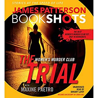 The Trial: A BookShot audiobook cover art