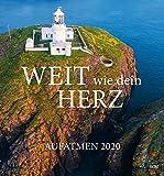 Aufatmen 2020 - Wandkalender: Weit wie dein Herz (Edition Aufatmen) -