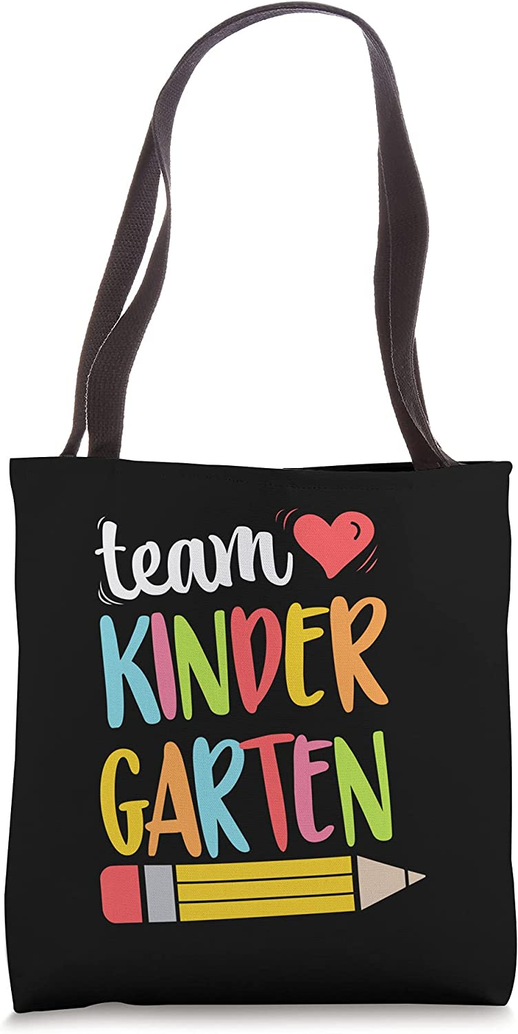 Team Kindergarten Teacher Student Funny Challenge the lowest price Free shipping Bag To Back School Tote