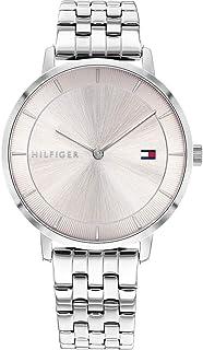 Tommy Hilfiger Reloj Analógico para Mujer de Cuarzo con Correa en Acero Inoxidable 01782283