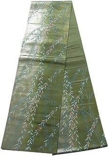 リサイクル 袋帯 枝垂れ柳 引箔 上品 正絹