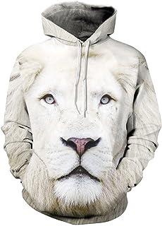 Zrong Unisex Mens Sweatshirts 3D Hoodies for Teens Pullover Jumpers Sportswear