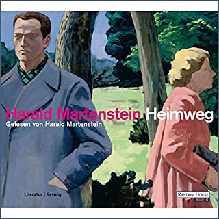 Heimweg                   Autor:                                                                                                                                 Harald Martenstein                               Sprecher:                                                                                                                                 Robert Gernhardt,                                                                                        Bernd Eilert                      Spieldauer: 4 Std. und 40 Min.     14 Bewertungen     Gesamt 3,6