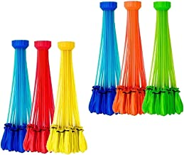 Simulated Zuru Bunch of Balloons 2 Sets Instant Water Balloons Colorful Rapid Filled Toy for Kids Adults Outdoor Water Bomb Fight Games - Color Random