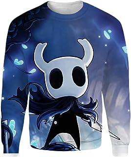 MENTOILA Hollow Knight Pullover Sudadera Suave y Grueso suéter del algodón de Moda suéter Ligero Sudaderas Unisex
