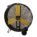Master PROFESSIONAL Master MAC-30D-EP, Heavy Duty, 30' High capacity direct drive drum fan, Black