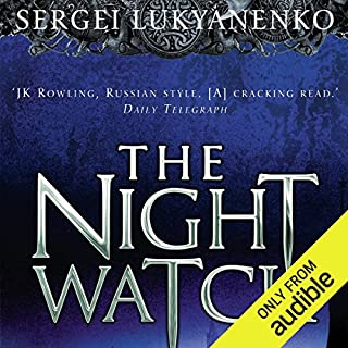 Night Watch     Watch, Book 1              By:                                                                                                                                 Sergei Lukyanenko                               Narrated by:                                                                                                                                 Paul Michael                      Length: 14 hrs and 45 mins     1,341 ratings     Overall 4.1