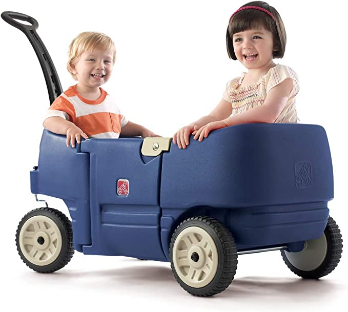 Step2 Wagon for Two Plus Blue - Budget-friendly