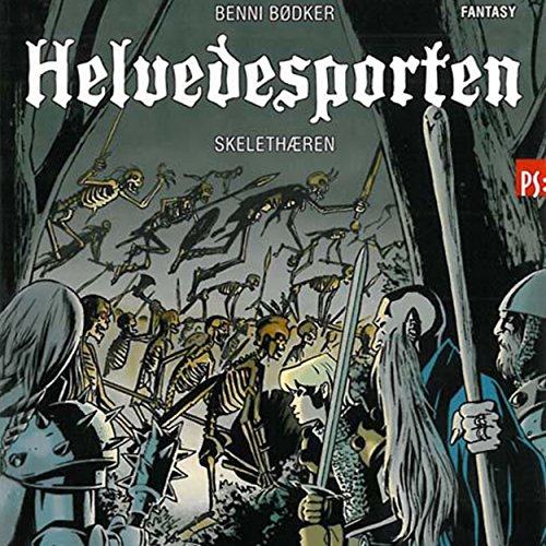 Skelethæren audiobook cover art