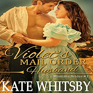 Violet's Mail Order Husband audiobook cover art